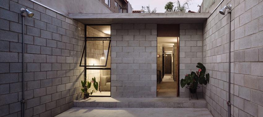 Pustaki bloki betonowe